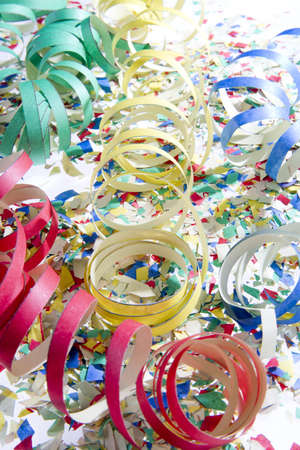 party streamers: carnival