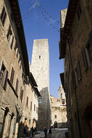 san gimignano tuscany italy Stock Photo - 11063474