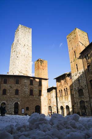 san gimignano tuscany italy Stock Photo - 11063457