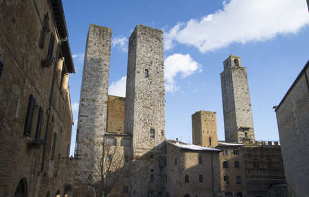 san gimignano tuscany italy Stock Photo - 11063489