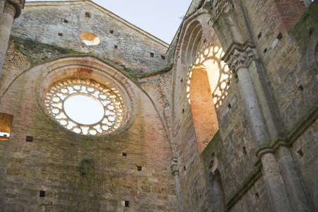 abbey of san galgano tuscany italy