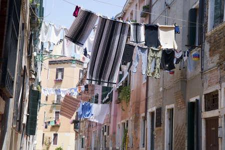 gondoliers: venice Stock Photo