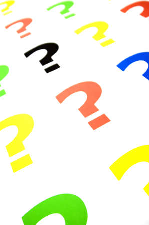 question mark Stock Photo - 11706834