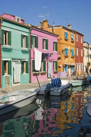 village of Burano Italy photo