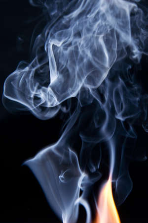 Fire and smoke photo