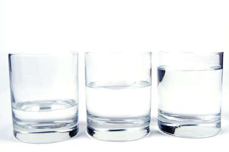 glass of water Standard-Bild