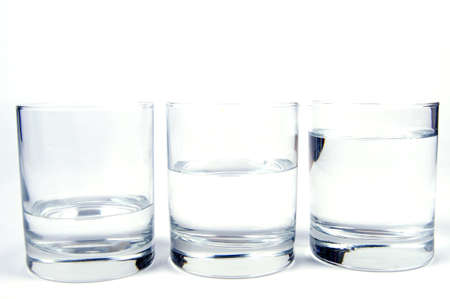 evaporacion: vaso de agua