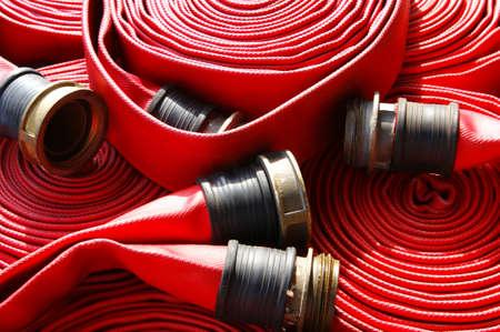 Feuerwehrschlauch Standard-Bild - 12401686