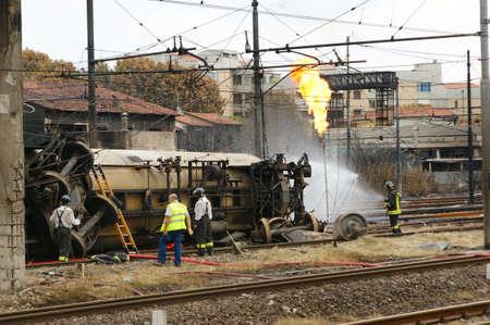 train accident 新聞圖片