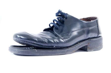 Kaputten Schuh Standard-Bild - 12237711