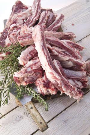 cinta: Cinta Senese pork ribs