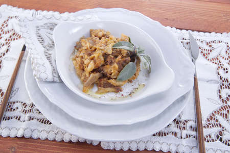 tripe with tomato photo