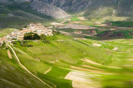 Castelluccio of Norcia Umbria Italy photo