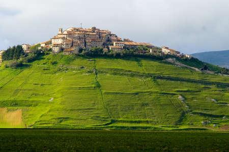 umbria: Umbria Norcia Castelluccio