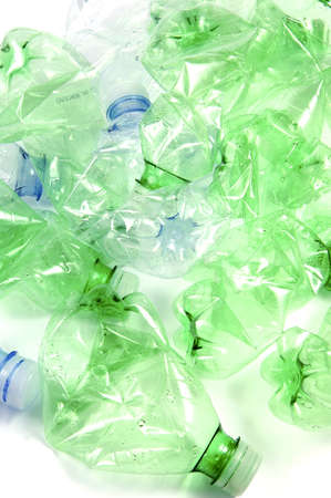 plastic bottles  photo