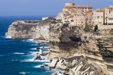 Bonifacio Korsika Sardinien Italien Standard-Bild - 12775773