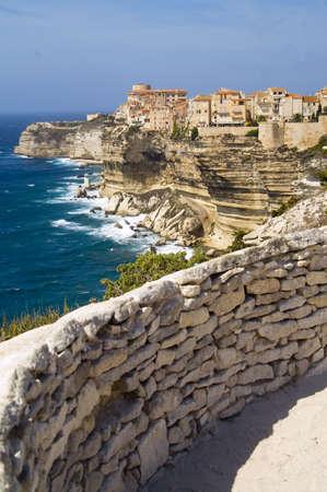 bonifacio Corsica Sardinia Italy Standard-Bild