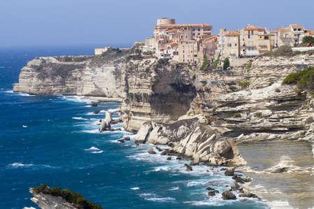 bonifacio Corsica Sardinia Italy Stock Photo