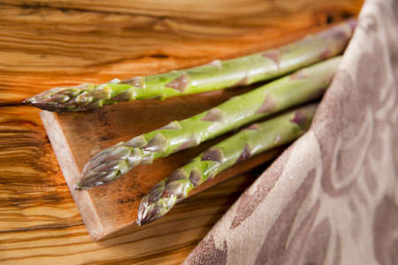 bunch of asparagus photo