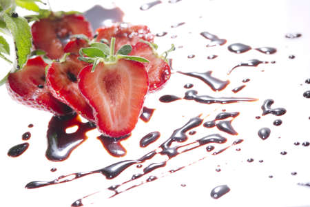 chocolate and strawberries Stock Photo - 13487429