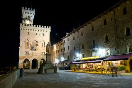 Square of freedom Republic of San Marino