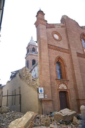Erdbeben in Norditalien emilia Standard-Bild - 14907420