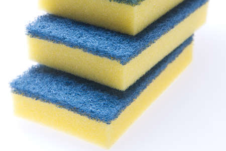 abrasive:  abrasive sponge Stock Photo