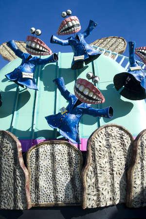 carnival of Viareggio Italy photo