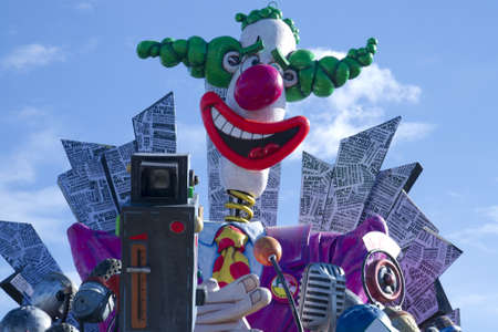 carnival of Viareggio Italy Stock Photo