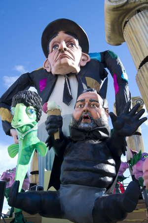carnival of Viareggio Italy
