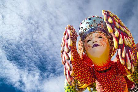 Karneval von Viareggio, Italien Standard-Bild - 18076311