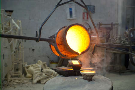 bronze casting photo
