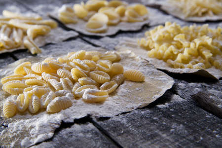 Plate Of Traditional Italian Pasta photo