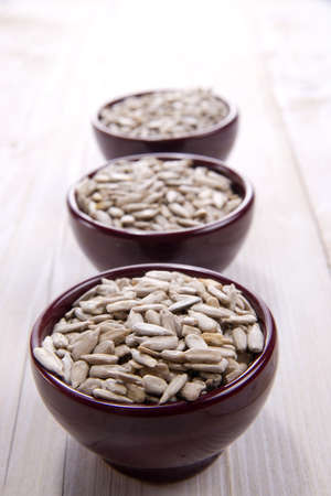 Fine Meal Of Roasted Sunflower Seeds photo