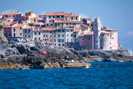 Tellaro Country Of The Mediterranean Sea Coast Of Liguria Italy photo