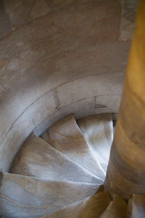 uplift: Old, worn marble stairs from the wear of time and the passage of the PEOPLE.