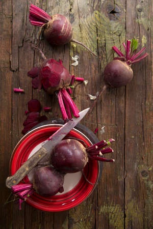 slide show: Photo slide show of the moment when you peel the beetroot