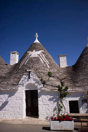 Unique and unmistakable architecture of Alberobello Italy World Heritage Site