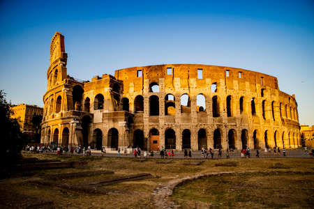 Approves some monument of the Colosseum him in Italy in the city of Rome Editorial