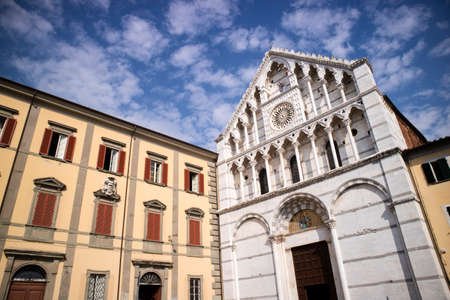 View of the church of Santa Caterina di Alessandria in the center of Pisa Tuscany Italy Stock Photo - 131764037