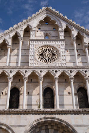 View of the church of Santa Caterina di Alessandria in the center of Pisa Tuscany Italy Stock Photo