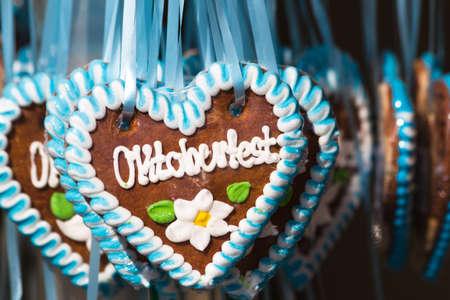 wiesn: gingerbread on the oktoberfest