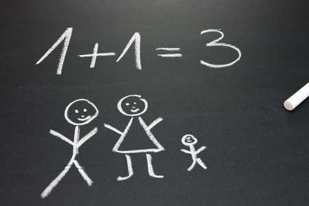 buchstabe: blackboard in a primary school
