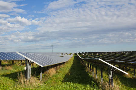 Solar energy is environmentally friendly Stock Photo - 13558034