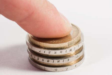 zahlen: Euro Stock Photo