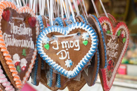gingerbread at the oktoberfest photo