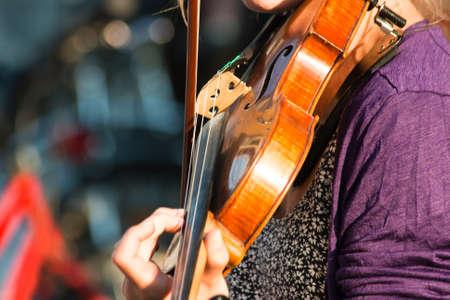 street musicians Standard-Bild