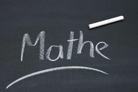 buchstabe: described blackboard