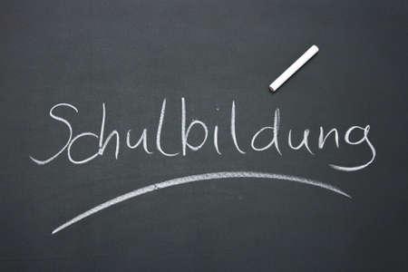 ferien: described blackboard