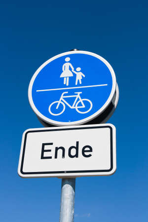 nger: traffic sign in Germany   Stock Photo